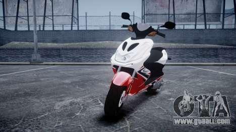 Yamaha Aerox R for GTA 4
