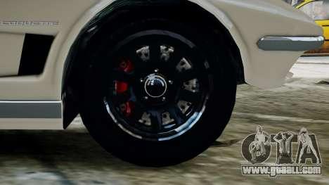 GTA 5 Coquette Classic for GTA 4 back left view