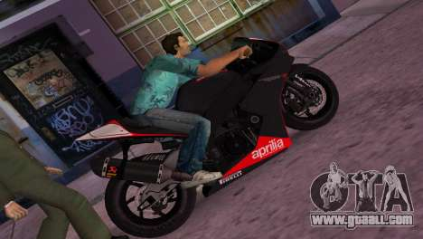 Aprilia RSV4 2009 Original for GTA Vice City