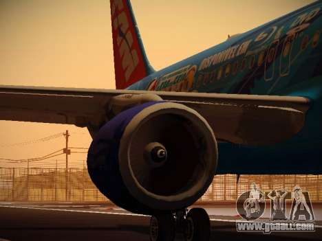 Airbus A320-214 TAM Airlines RIO for GTA San Andreas engine