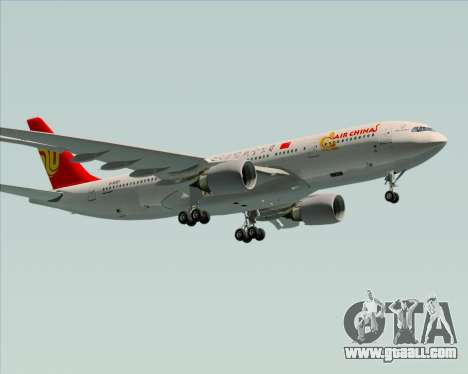 Airbus A330-200 Air China for GTA San Andreas engine
