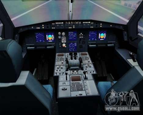Airbus A340-313 Lufthansa for GTA San Andreas interior