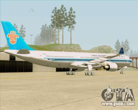 Airbus A330-300 China Southern Airlines for GTA San Andreas right view