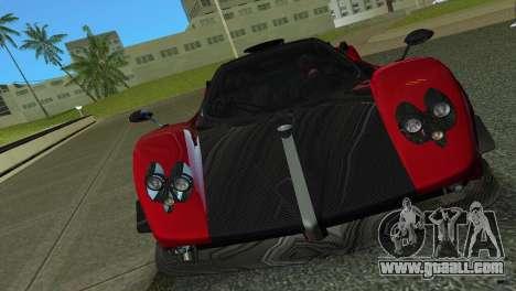 Pagani Zonda Cinque for GTA Vice City left view