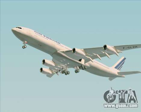 Airbus A340-313 Air France (Old Livery) for GTA San Andreas side view