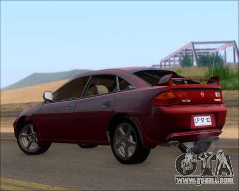 Mazda 323F 1995 for GTA San Andreas right view