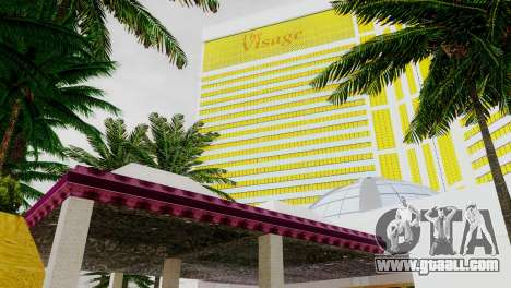 New textures casino Visage in Las Venturas for GTA San Andreas sixth screenshot