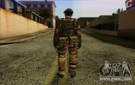 Soldiers MEK (Battlefield 2) Skin 5 for GTA San Andreas second screenshot