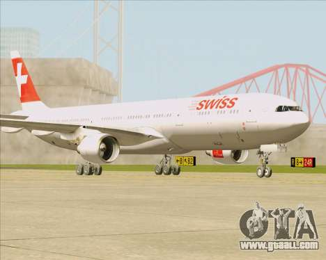 Airbus A330-300 Swiss International Air Lines for GTA San Andreas left view