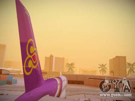 Airbus A380-800 Thai Airways International for GTA San Andreas bottom view