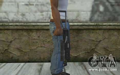 PP-19 Bizon (Battlefield 2) for GTA San Andreas third screenshot