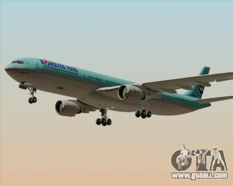 Airbus A330-300 Korean Air for GTA San Andreas upper view
