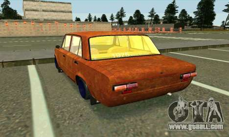 VAZ 2101 Rat-look for GTA San Andreas back left view
