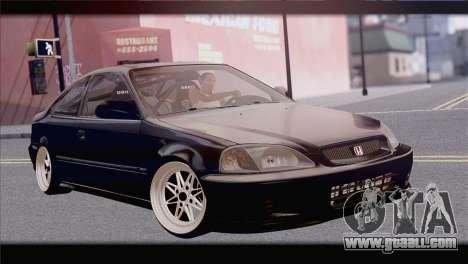 Honda Civic EM1 for GTA San Andreas