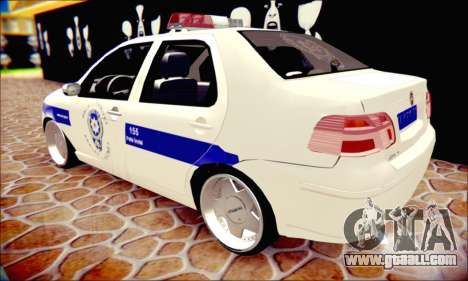 Fiat Albea Police Turkish for GTA San Andreas inner view