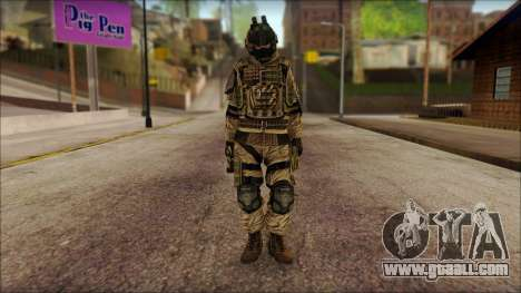 Soldiers of the EU (AVA) v2 for GTA San Andreas