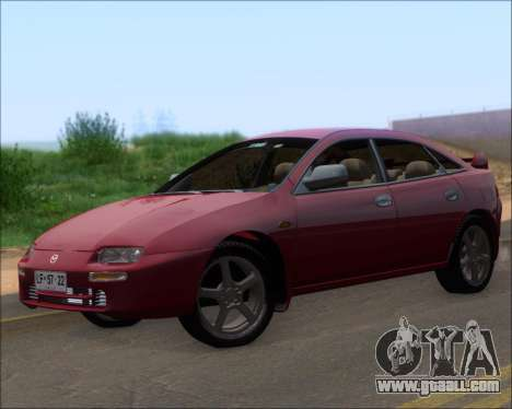Mazda 323F 1995 for GTA San Andreas left view