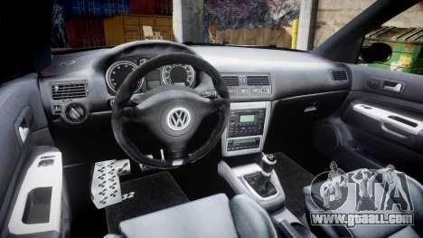 Volkswagen Golf Mk4 R32 Wheel1 for GTA 4 inner view