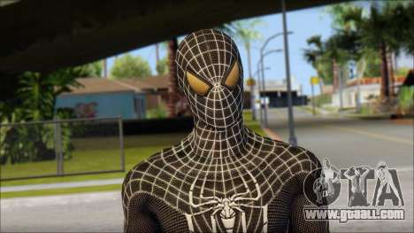 Standart Black Spider Man for GTA San Andreas third screenshot
