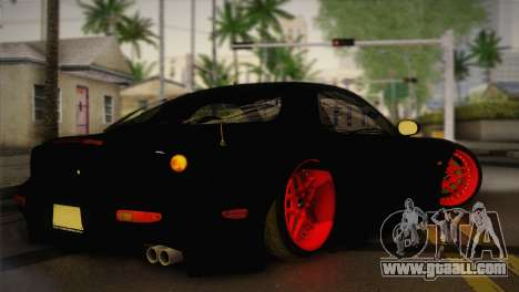 Mazda RX-7 Drift for GTA San Andreas left view