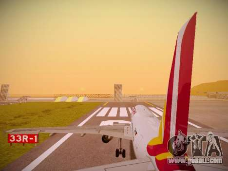 Airbus A319-132 Germanwings for GTA San Andreas engine