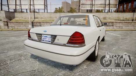 Ford Crown Victoria LX Sport for GTA 4 back left view