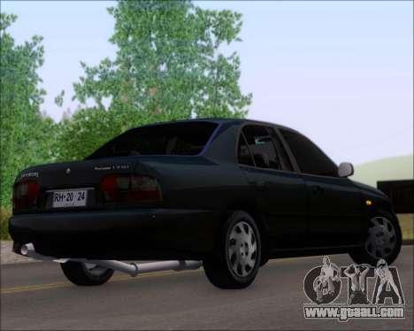 Proton Persona 1996 1.5 Gli for GTA San Andreas left view