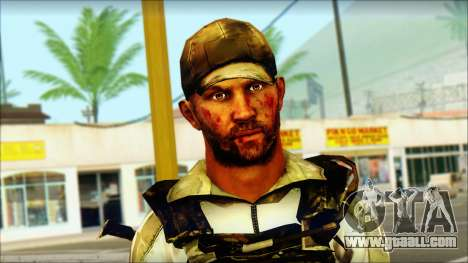 Taliban Resurrection Skin from COD 5 for GTA San Andreas third screenshot