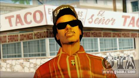 Eazy-E Red Skin v1 for GTA San Andreas third screenshot