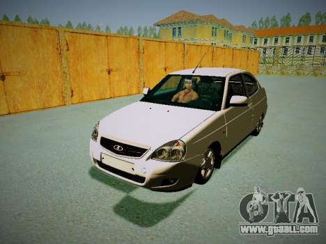 Lada Priora Coupe for GTA San Andreas left view