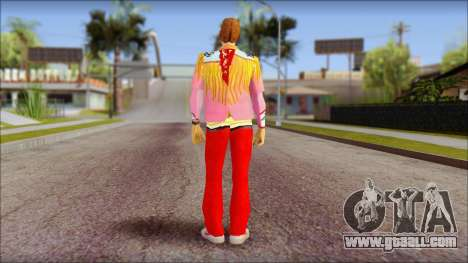 Marty from Back to the Future 1885 for GTA San Andreas second screenshot