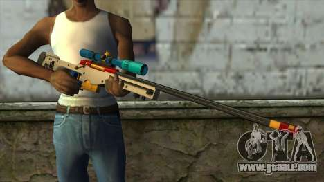Sniper Rifle from PointBlank v4 for GTA San Andreas third screenshot