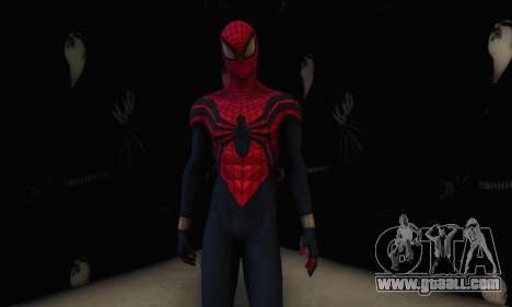 Skin The Amazing Spider Man 2 - Suit Ben Reily for GTA San Andreas fifth screenshot