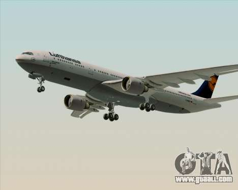 Airbus A330-300 Lufthansa for GTA San Andreas engine