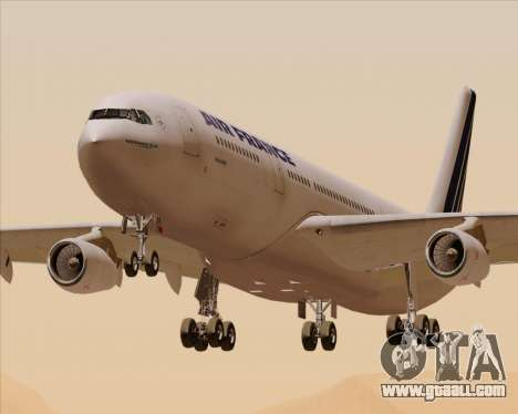 Airbus A340-313 Air France (Old Livery) for GTA San Andreas