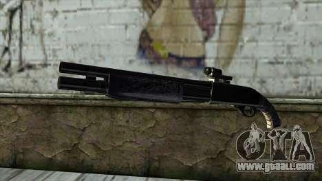 PurpleX Shotgun for GTA San Andreas
