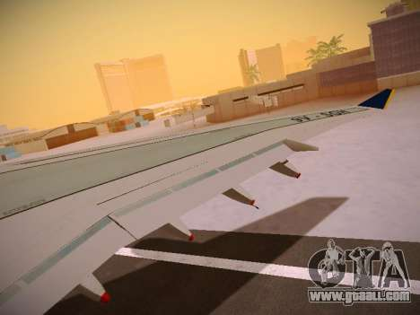 Airbus A340-600 Singapore Airlines for GTA San Andreas wheels