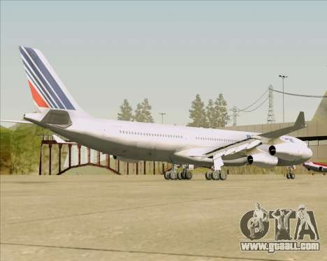 Airbus A340-313 Air France (Old Livery) for GTA San Andreas right view