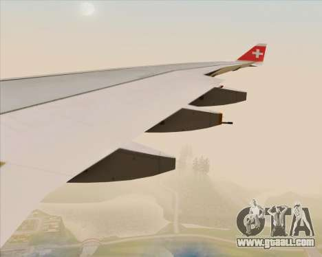 Airbus A330-300 Swiss International Air Lines for GTA San Andreas wheels