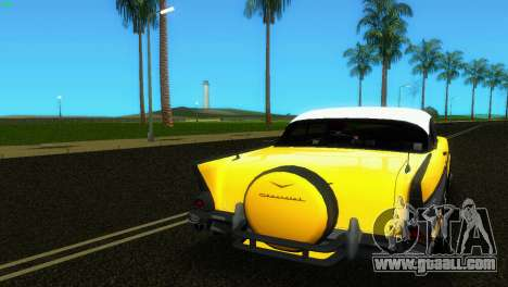 Chevrolet BelAir 1957 for GTA Vice City side view