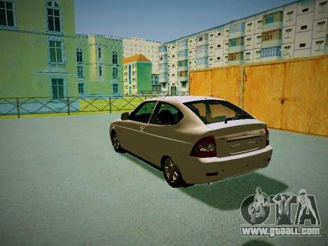Lada Priora Coupe for GTA San Andreas back left view