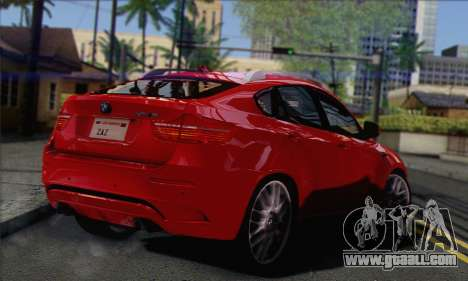 BMW X6M 2013 v3.0 for GTA San Andreas left view