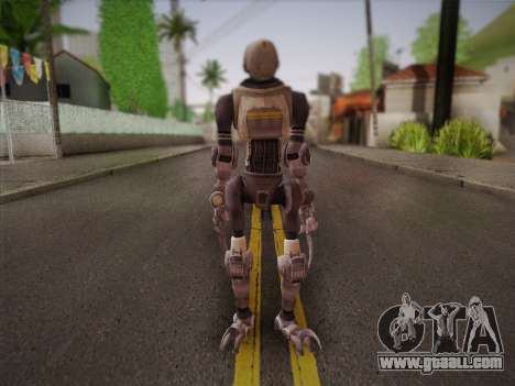 Mouser Human for GTA San Andreas