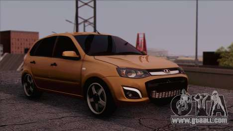 Lada Kalina 2 Wagon for GTA San Andreas