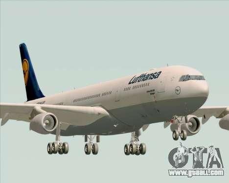 Airbus A340-313 Lufthansa for GTA San Andreas