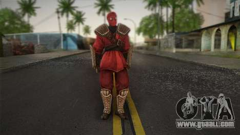 Foot Soldier Elite v1 for GTA San Andreas