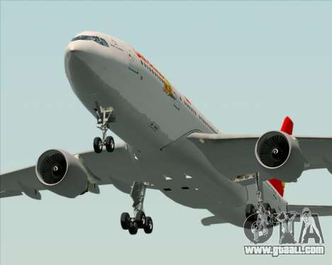 Airbus A330-200 Air China for GTA San Andreas interior