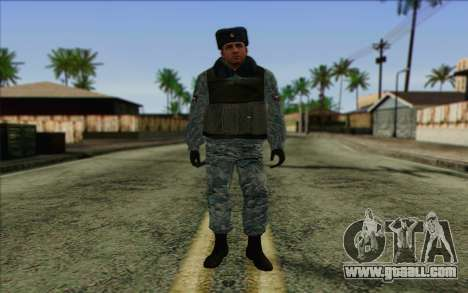 Police In Russia's Skin 5 for GTA San Andreas