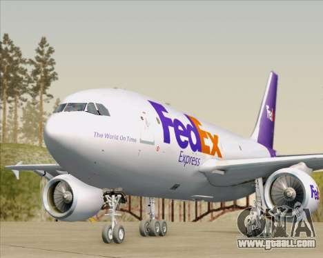 Airbus A310-300 Federal Express for GTA San Andreas engine