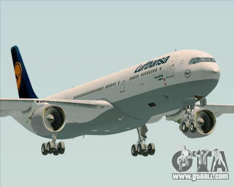 Airbus A330-300 Lufthansa for GTA San Andreas